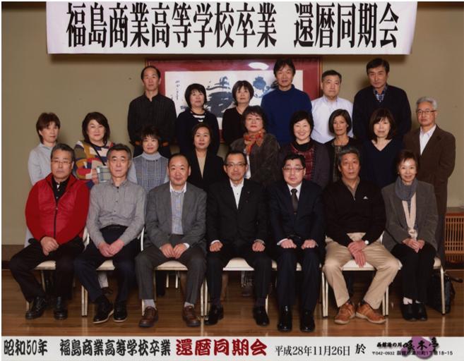 昭和50年 福島商業同期会